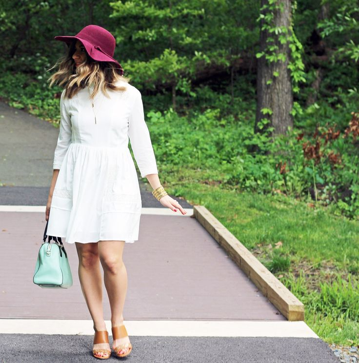 Little White Dress | Glass of Glam