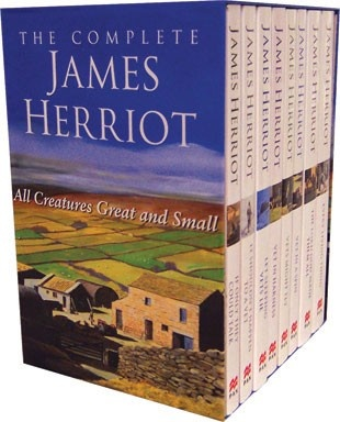 James Herriot ......everything he wrote I loved, only author that has made me laugh out loud and then cry! Amazing story teller!