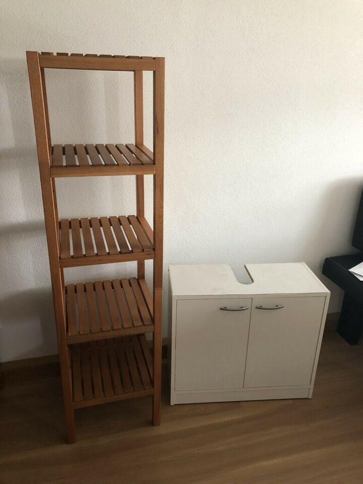 Ikea badregal und waschbecken unterschrank wie neu in ...