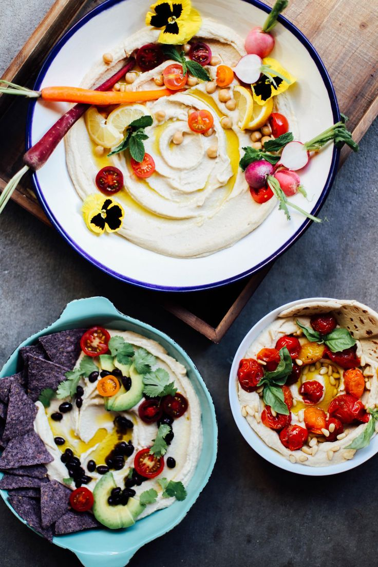 3 Easy Ways to Style Up Your Hummus
