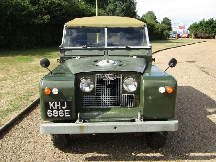 1967 Land Rover Series IIA 20,125 miles Anglia Car Auctions