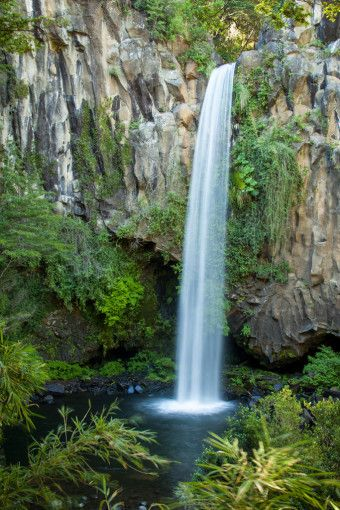 "Princess Waterfall - ""Salto de la Princesa"" in Conguillio National Park Chile"