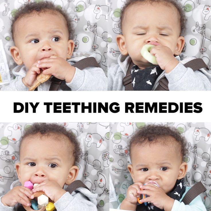 DIY Teething Remedies