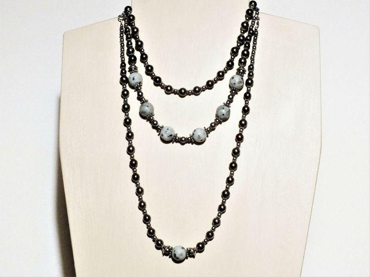 Iconoclast Necklace - Kiwi Jasper and Pyrite