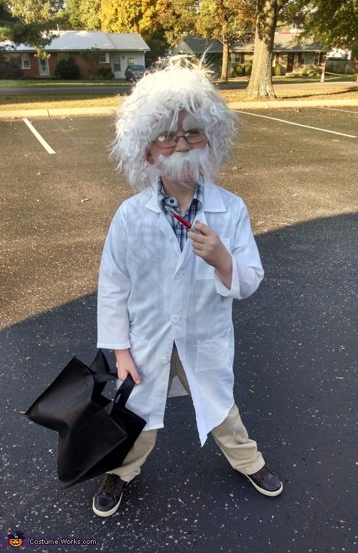 Little Albert Einstein - Halloween Costume Contest via @costume_works