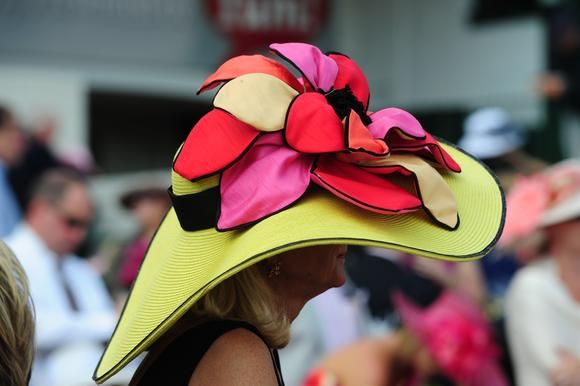 "Part Southern tradition, part spectacle, the Kentucky Derby hat parade is much of what makes ""The Greatest Two Minutes in Sports"" one of the greatest people-watching events in the world"