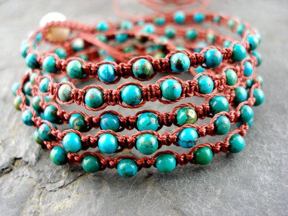 macrame bracelet / necklace