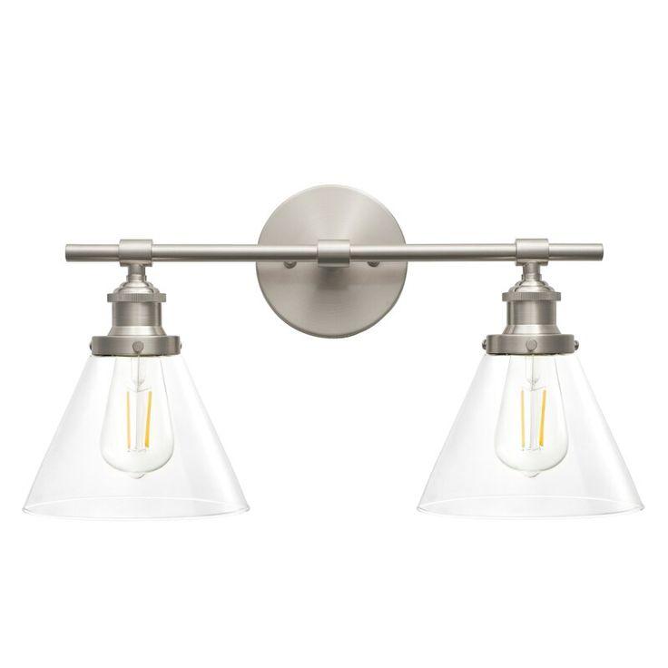 Ragnar 2 Light Dimmable Vanity Light In 2020 Vanity Lighting Transitional Home Decor Light