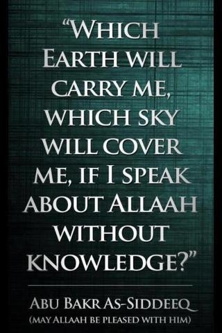 Subhanallah. This is a very serious matter for today we have many Muslims that speak about Allah that which is not accurate and has no basis. May Allah keep us safe from this Ameen