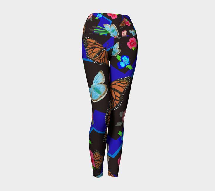 Butterfly Meetup - Yoga Leggings