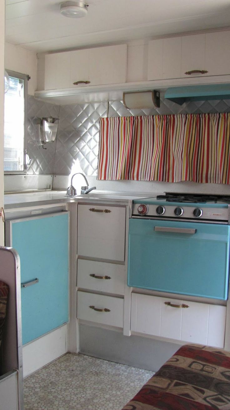 431 Best Images About Caravan Interior Vintage Camper Tiny Trailer On Pinterest Vintage