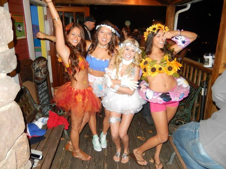 Halloween Costume for 4 people, Summer Spring Winter Fall costume