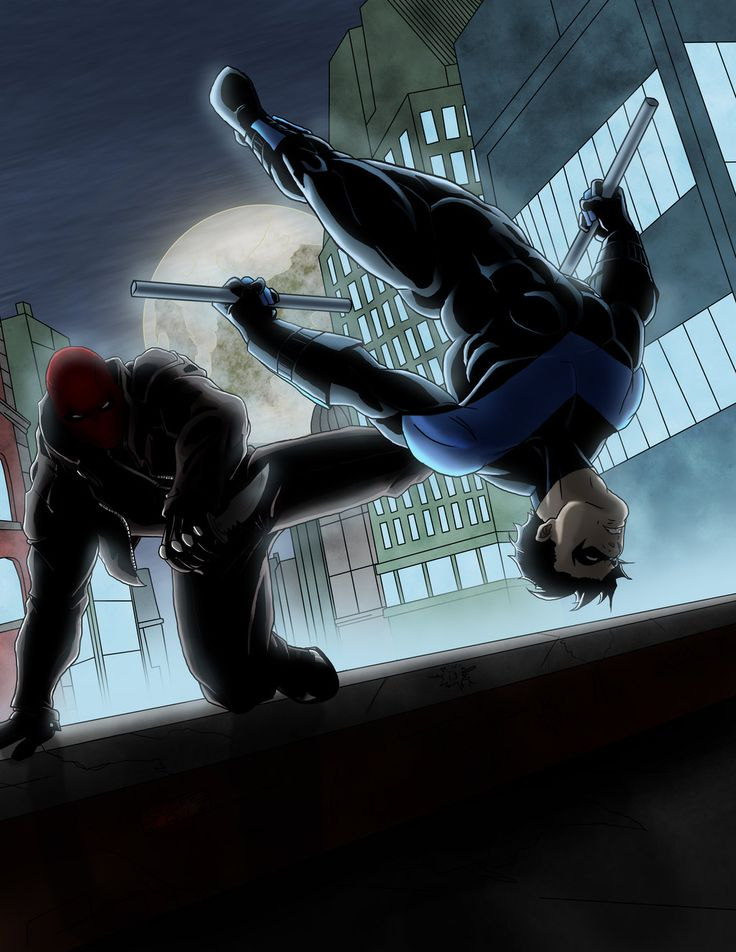 Red Hood vs. Nightwing
