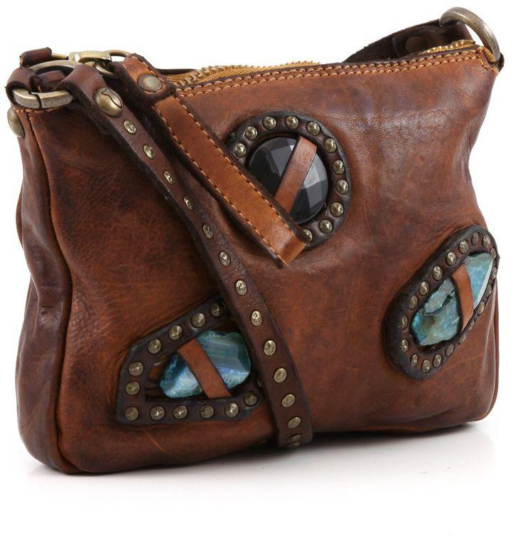 Campomaggi Lavata Shoulder Bag Leather cognac 21 cm - C1288VL-1702 | Designer Brands :: wardow.com