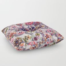Buttons 2 Floor Pillow by I Love the Quirky