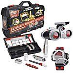 Ultimate Mission Spy Case by Young Explorers. $89.95. This Mission, Should You Decide to Accept It...Ultimate Mission Spy Case is packed with ultra cool paraphernalia for young secret agents! They can scope out the scene using the red night beam surveillance binoculars with pop-up spotlight& then employ the 8-in-1 wrist gadget's motion sensor, time stamp or secret message capsules! Awesome evidence kit includes glow-in-the-dark powder and ultraviolet light for lifting fi...
