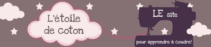 Ce site est super pour toutes les débutantes en couture! Lexique, vidéos, conseils... Une perle!