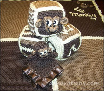 Free Monkey Crochet Baby Blanket Pattern : 1000+ images about Crochet appliques on Pinterest ...
