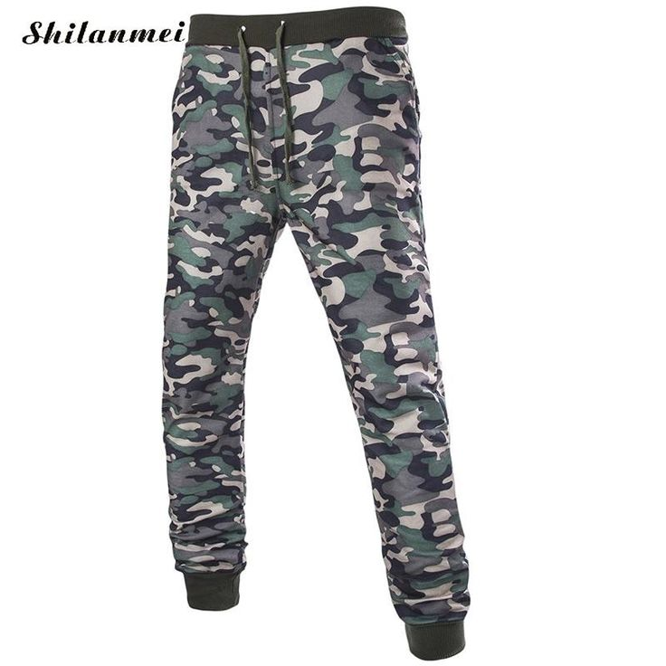 >> Click to Buy << 2016 Camouflage Cotton Militay Pants pencil mens shark pants causal fashion  army fashion pantalon homme #Affiliate