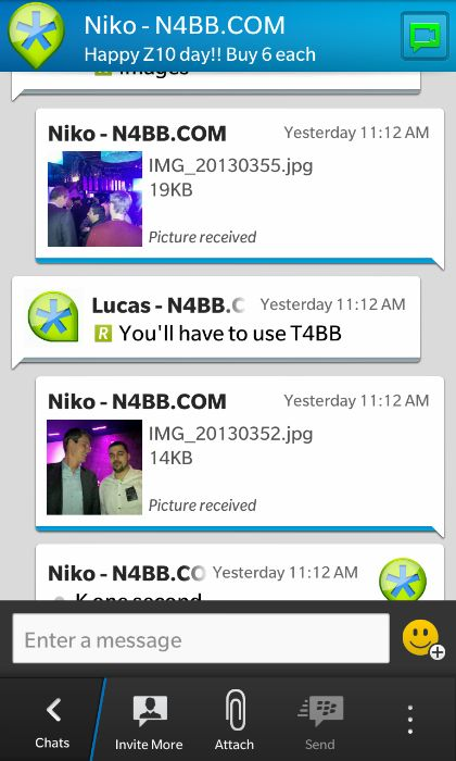 How to Request Higher Quality Images in BlackBerry Messenger