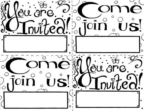 12 best Sunday School Invitations images on Pinterest