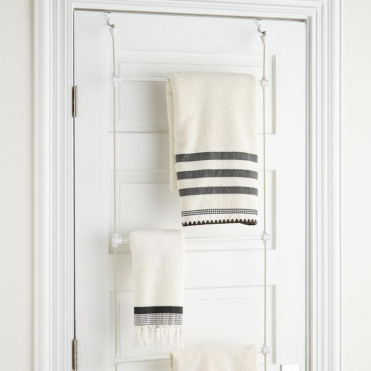 Over The Door Towel Rack Bathroom: Best 25+ Over Door Towel Rack Ideas On Pinterest
