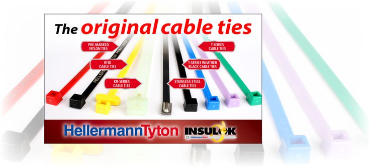 How to select and use Cable Ties Tip 7: There are 9 colours to choose from: Blue, Brown, Green, Grey, Purple, Red, Yellow and Natural. http://bit.ly/1Q7HyjH
