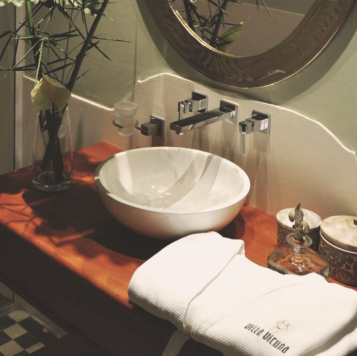 Baño con amenities
