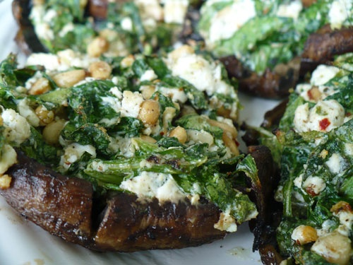 ... Lovely food - mushrooms on Pinterest | Sweet corn, Spinach and Pizza