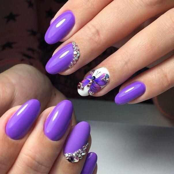 Дизайн круглых ногтей фото новинки