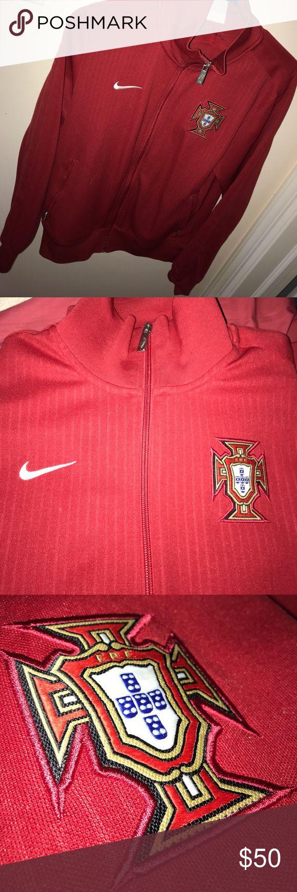 Nike Portugal soccer jacket Zipper pockets Nike Other