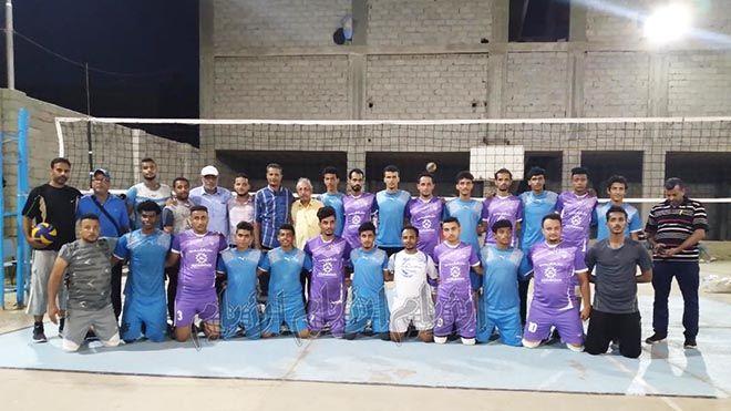 فريق نادي السهام للكرة الطائرة يقوم بزيارة إلى عدن قام فريق الكرة الطائرة لنادي السهام الرياضي من محافظة رياضةمحلية Www Alayyam Info Lol