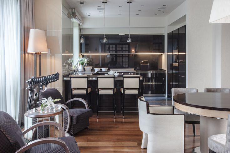 Apartment on  Patriarshy. Kitchen view.