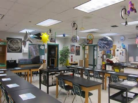 high school science classroom decorating ideas