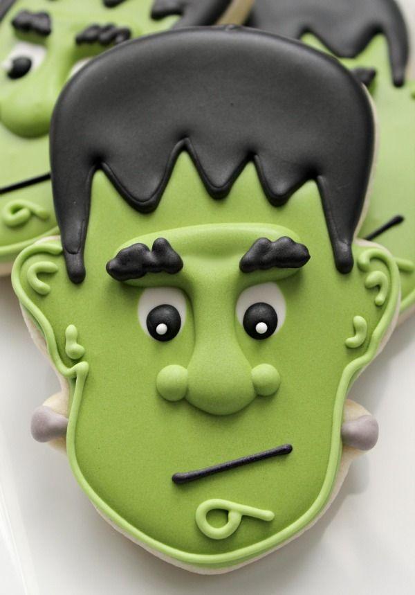 Frankenstein Cookie HV: cukormáz ételfestékek habzsák dekorcső coupler Megvásárolhatsz mindent a GlazurShopban! http://shop.glazur.hu #kekszdekoracio