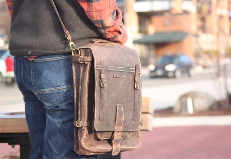 74Street Bags Lucky Double 15″ Vertical Messenger Bag Review – $485