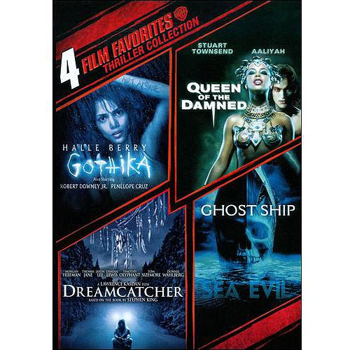 Thriller Collection: 4 Film Favorites - Ghost Ship / Queen Of The Damned / Gothika / Dreamcatcher (Widescreen)