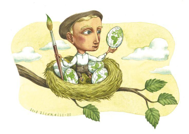 Otto Dickmeiss Illustration