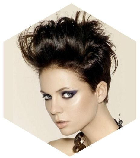 Six Hot Short Hair Style Trends For 2014 Random Cool Pinterest Pompadour Short Hair And