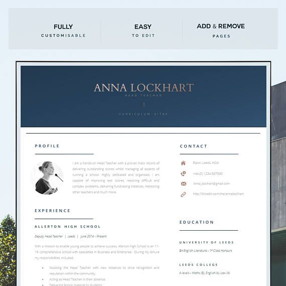 Mer enn 25 bra ideer om Teacher resume template på Pinterest - teacher resume templates