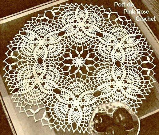 Doily with pineapple #afs collection