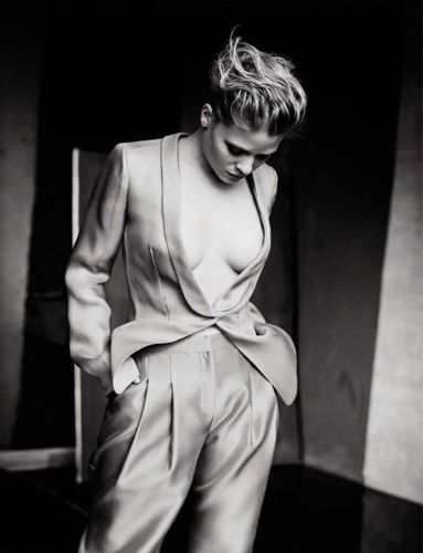 Mélanie Thierry by Paolo Roversi for Vogue Italia