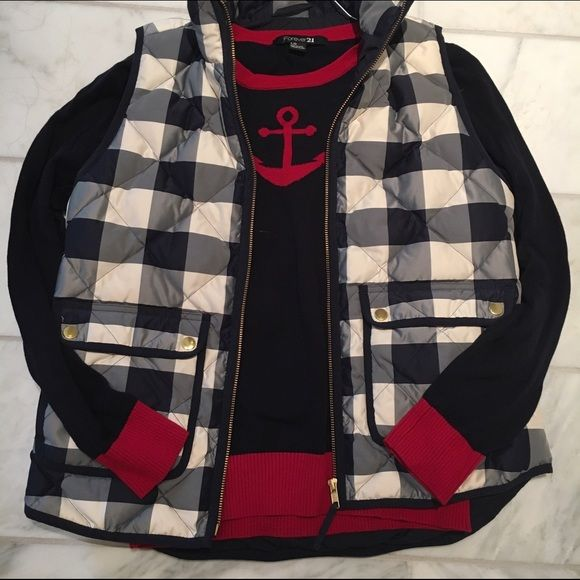 Forever 21 Sweaters - Preppy Anchor Sweater