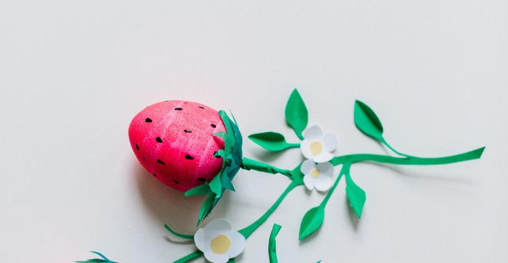 These little cuties are the definition ofsweet! Using not much more than egg dye, paper, a touch of glue and your own imagination, empty egg shells are transformed intosummer's favorite fruit.Use them to top gifts, tuck into your littleone's Easter basket, or create a beautiful tables cape that looks good enough to eat! Read on […]