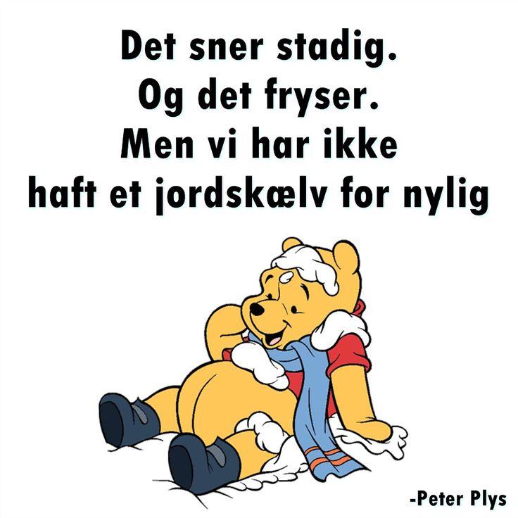 Peter Plys. Vinter