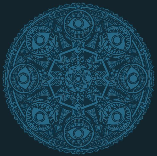 the Eye Mandala from MANTRA by Lo_SPino, via Behance