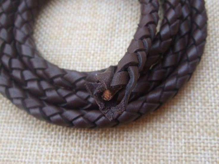 Aliexpress.com: Compre 1 jarda 10 * 7 mm preto / Brown trançado couro Real cordão para colar pulseira de confiança cord accessories fornecedores em CRAFT-TOWN CO.,LTD
