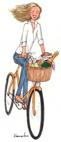 Pique-nique et vélo, l'alliance pour les beaux-jours idéale ? #picnic #bike #happiness