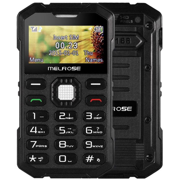 MELROSE S2 1.7 Inch Mini Outdoor Smart Phone GSM Single SIM Phone Shockproof Dustproof Back Camera
