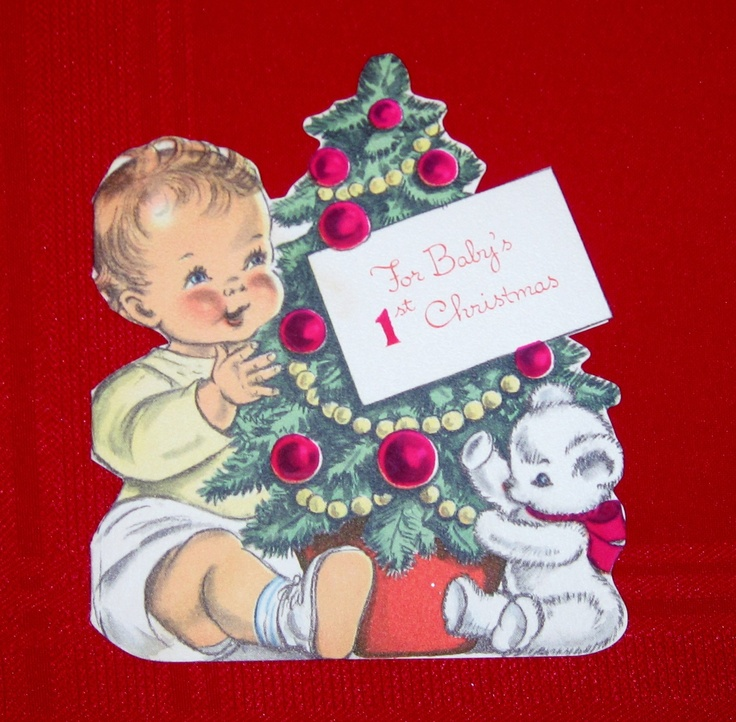 Babys First Christmas Gift Ideas Pinterest : Best christmas vintage baby s st images on